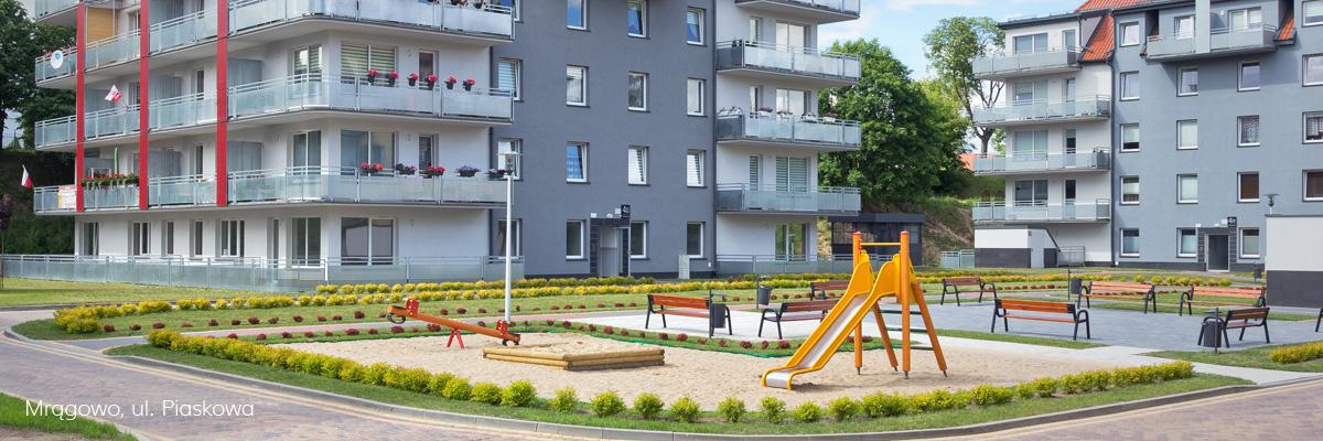 Zarządzanie nieruchomościami - Mrągowo, ul. Piaskowa